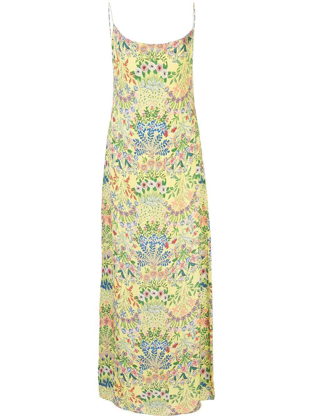 Harmony Maxi Dress With Slit Item # CC003P19508