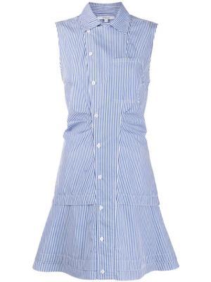 Satina Sleeveless Shirt Dress