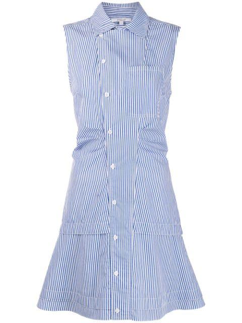 Satina Sleeveless Shirt Dress