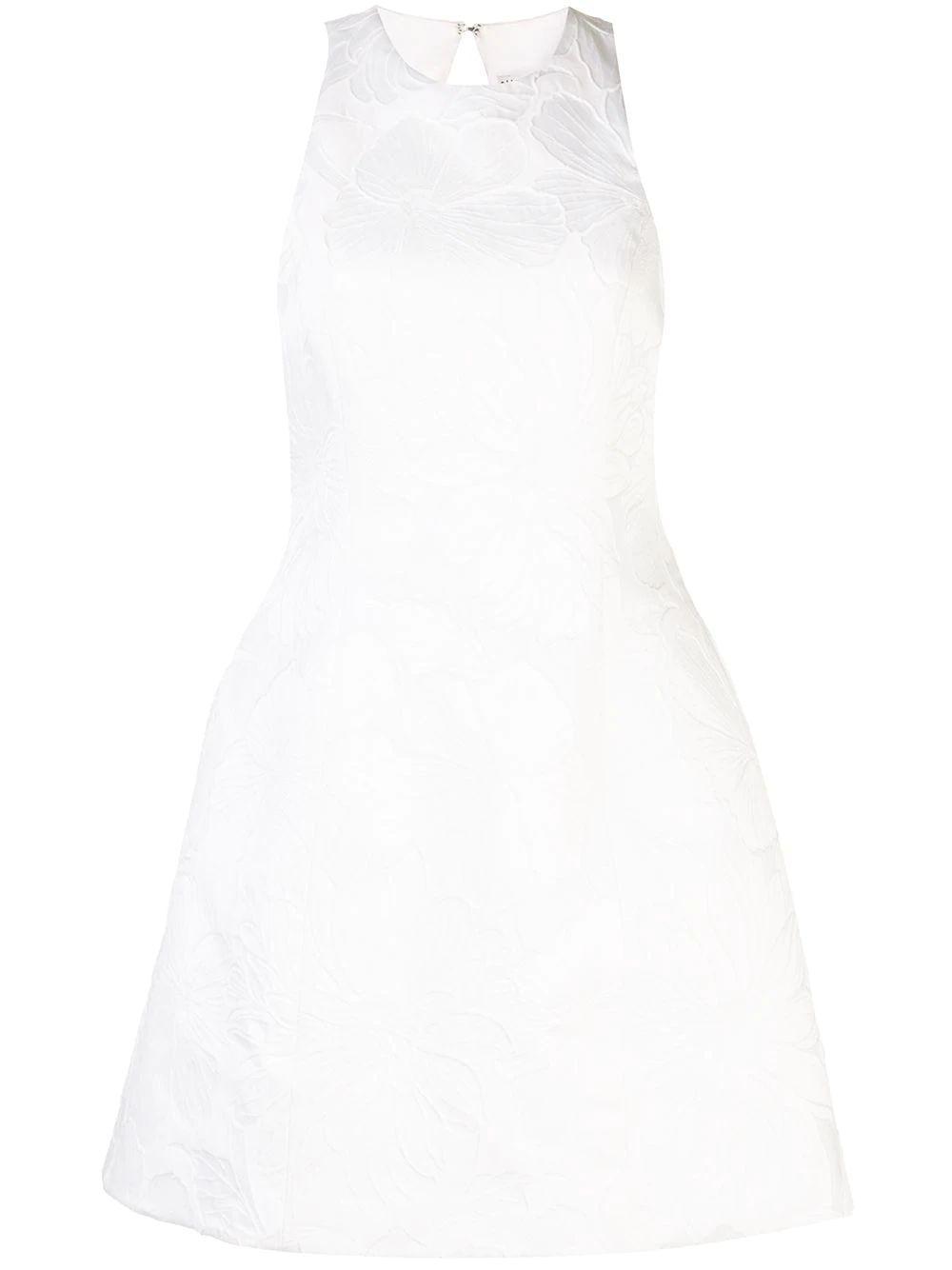 Coralia Lantern Dress With Open Back Item # CC003Q01545