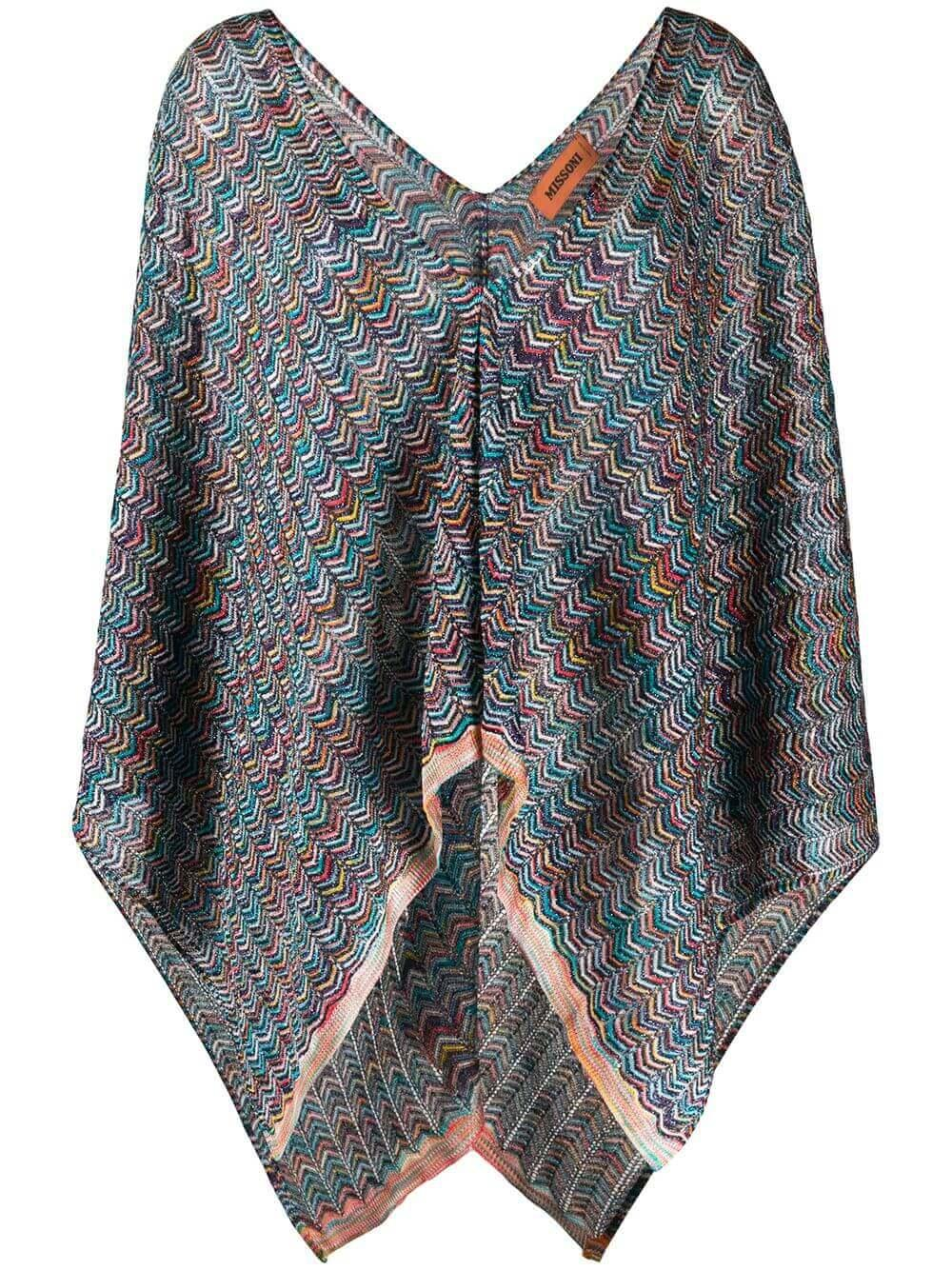 Open Front Poncho