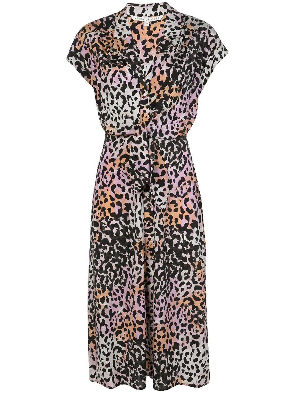 Amani Waist Tie Midi Dress Item # 2003SDC032820