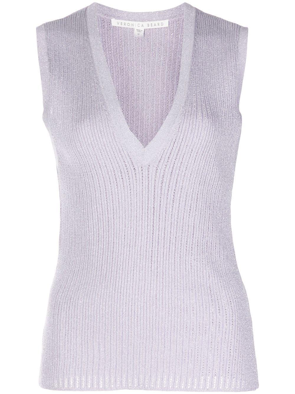 Sid Sleeveless V-Neck Pullover