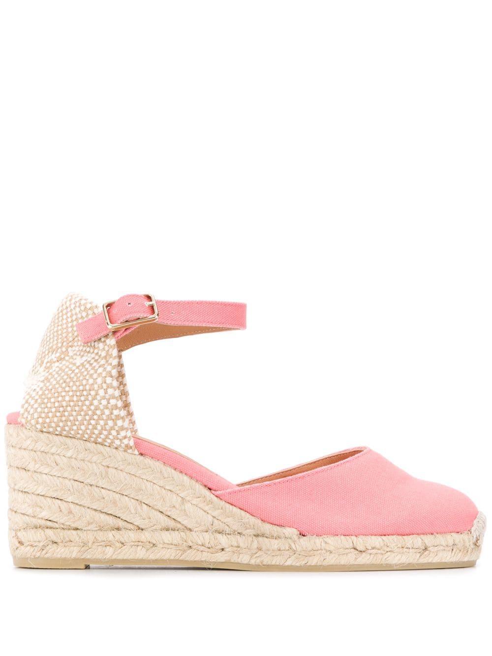 Ankle Strap Espadrille Wedge Sandal
