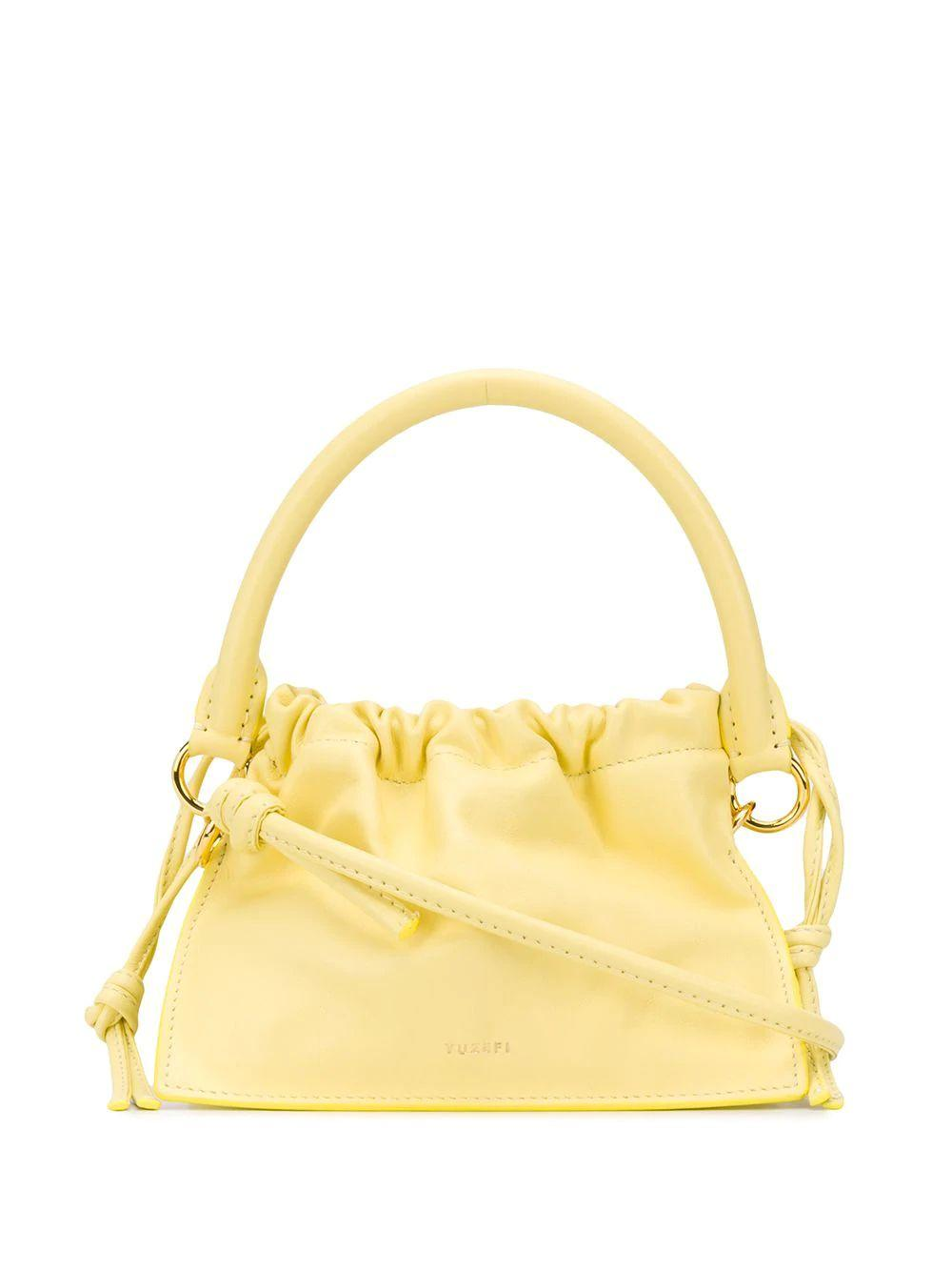 Mini Bom Rouched Shoulder Bag