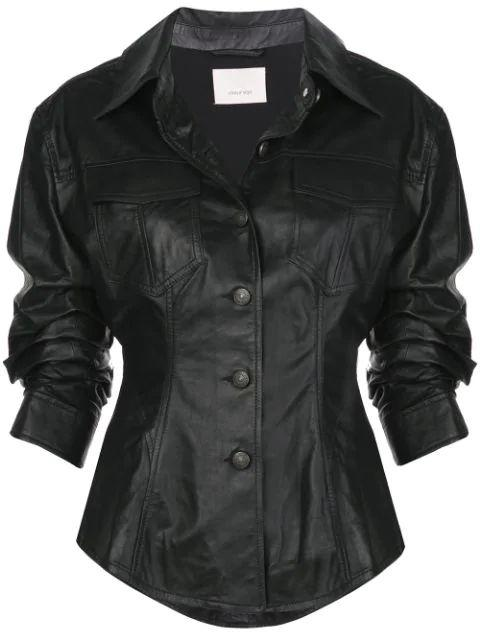 Leather Canyon Jacket