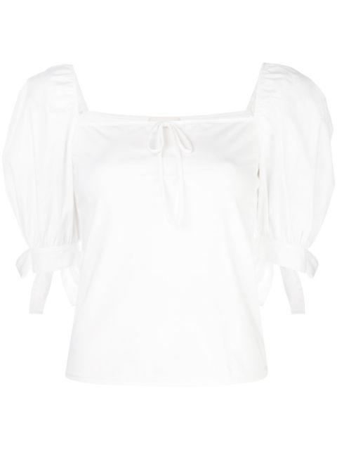 Elisa Square Neck Puff Sleeve Top