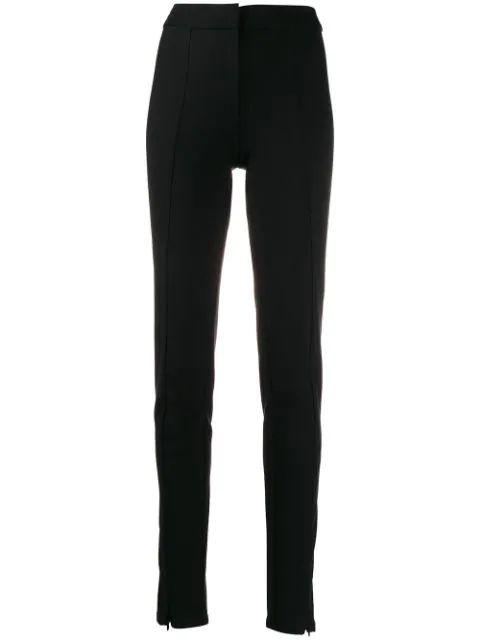 Ora Slim Trouser With Front Slit