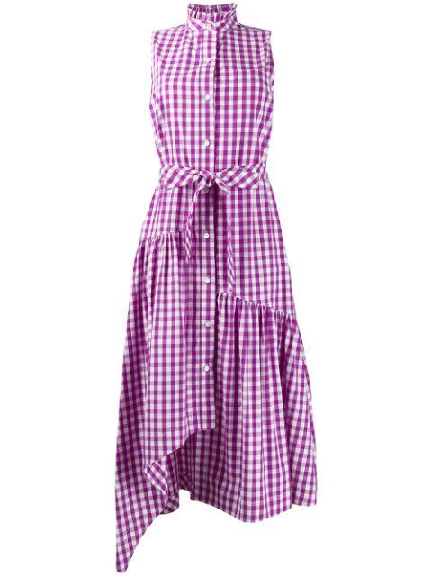 Nerioa Gingham Maxi Dress Item # TS01535GS-C