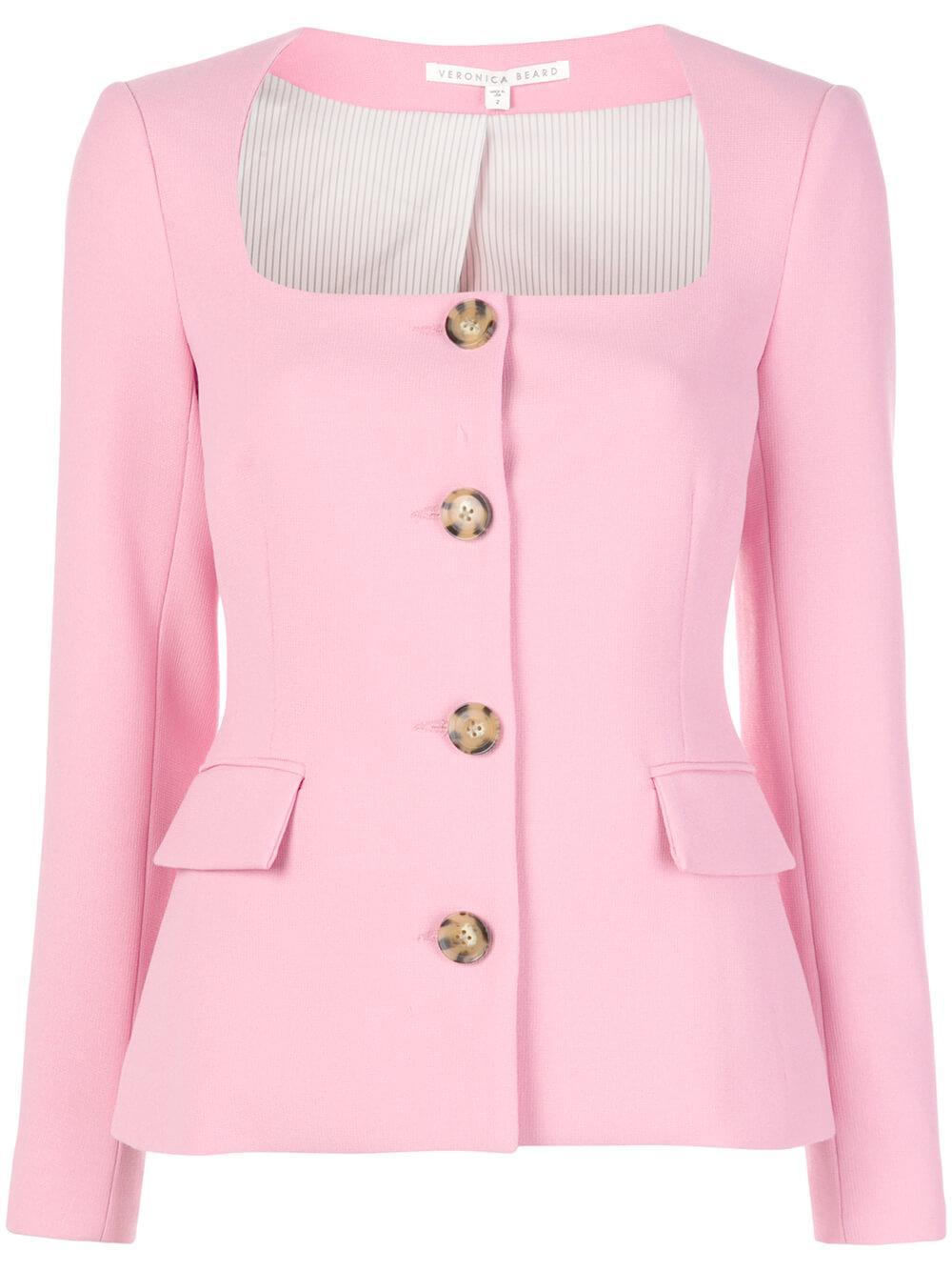 Ria Button Front Jacket Item # 2002SU0171626