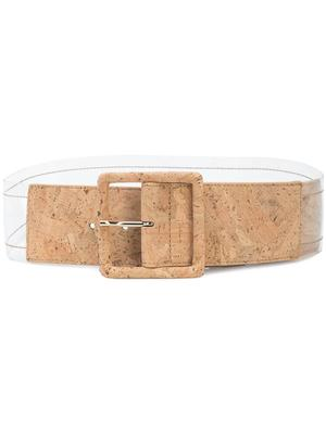Tinmarie Cork Acetate Belt