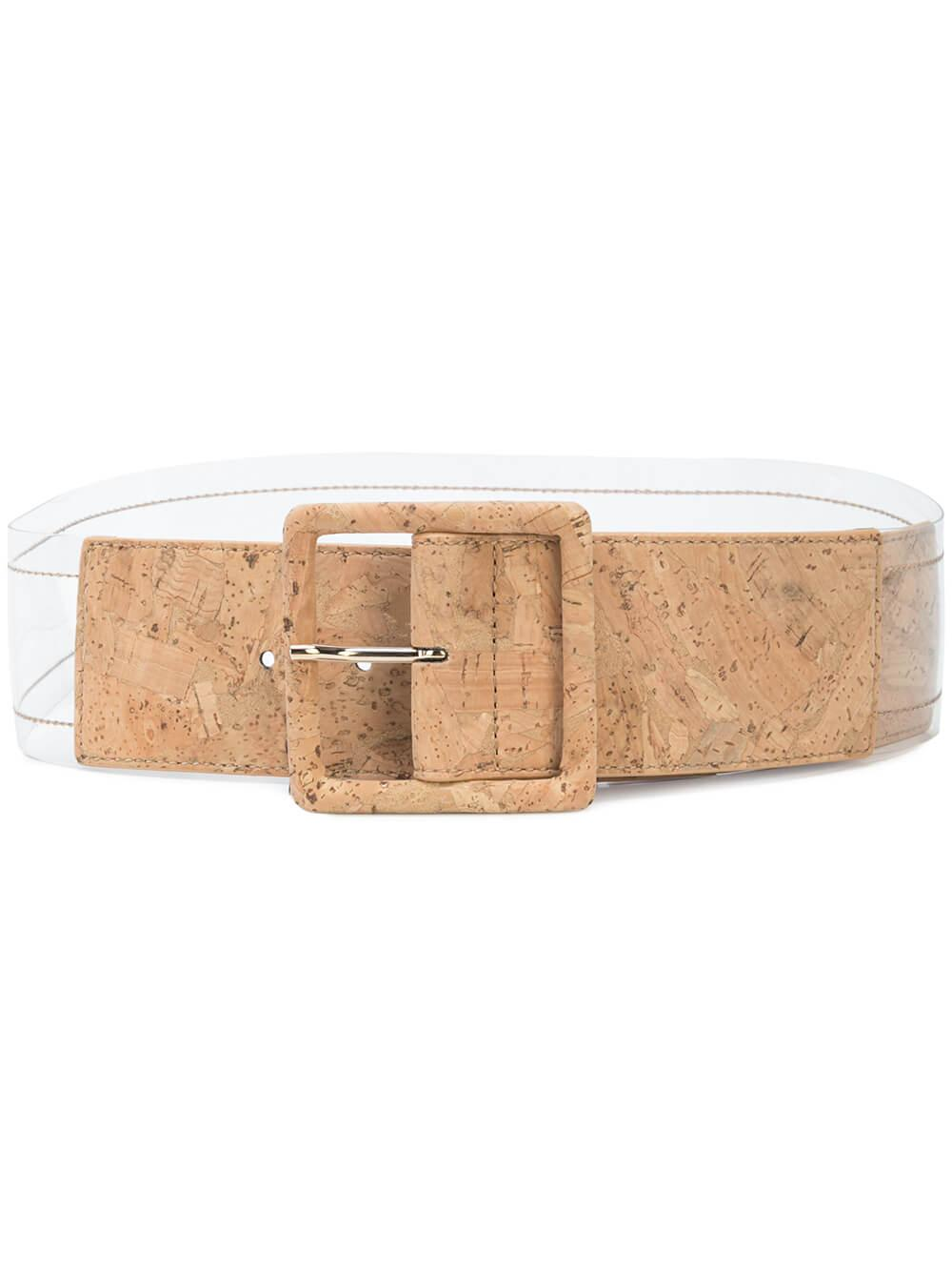 Tinmarie Cork Acetate Belt