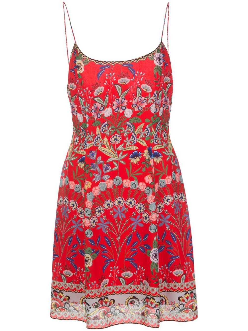 Ira Spaghetti Strap Flare Dress Item # CC003P65504