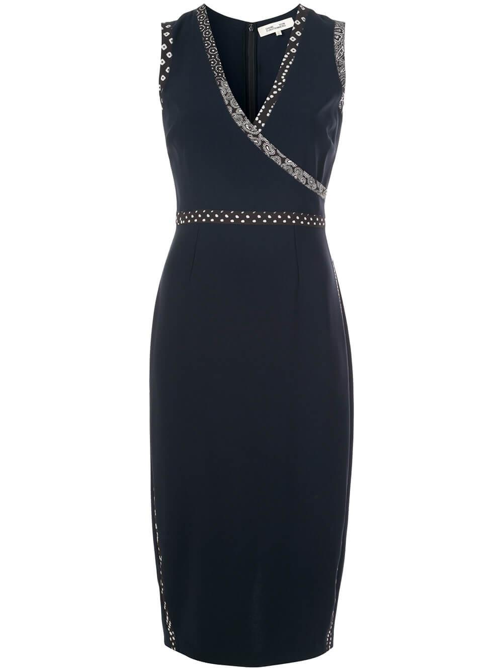 Anissa Sleeveless Sheath Dress Item # 14208DVF