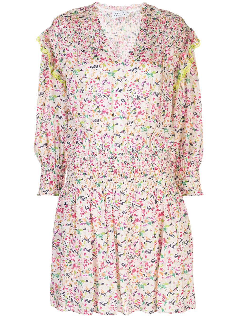 Imogen Confetti Print Mini Dress Item # S20D958130