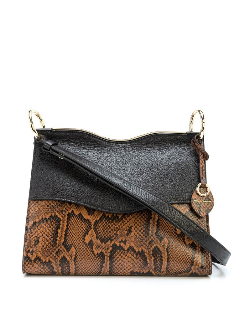 Dani Python Shoulder Bag