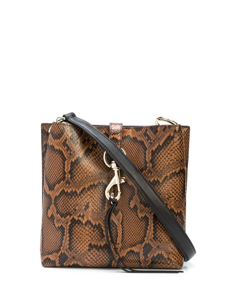 Megan Python Small Feed Bag