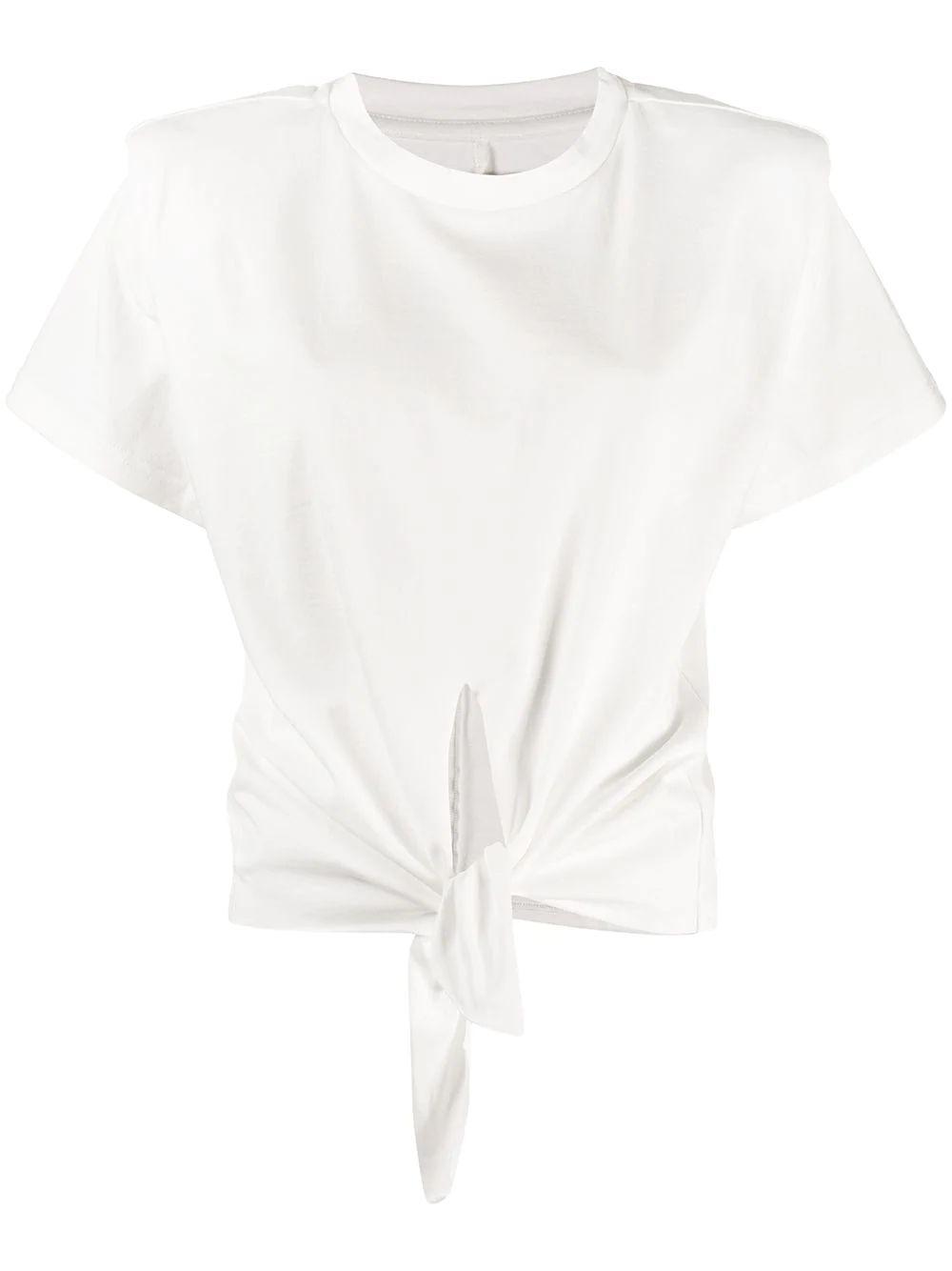 T- Shirt With Tie Front Item # BELITA