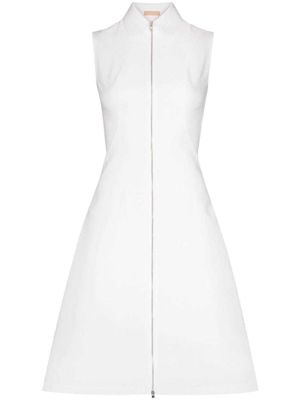Sleeveless Collared Zip Dress Item # AS9R838CT093