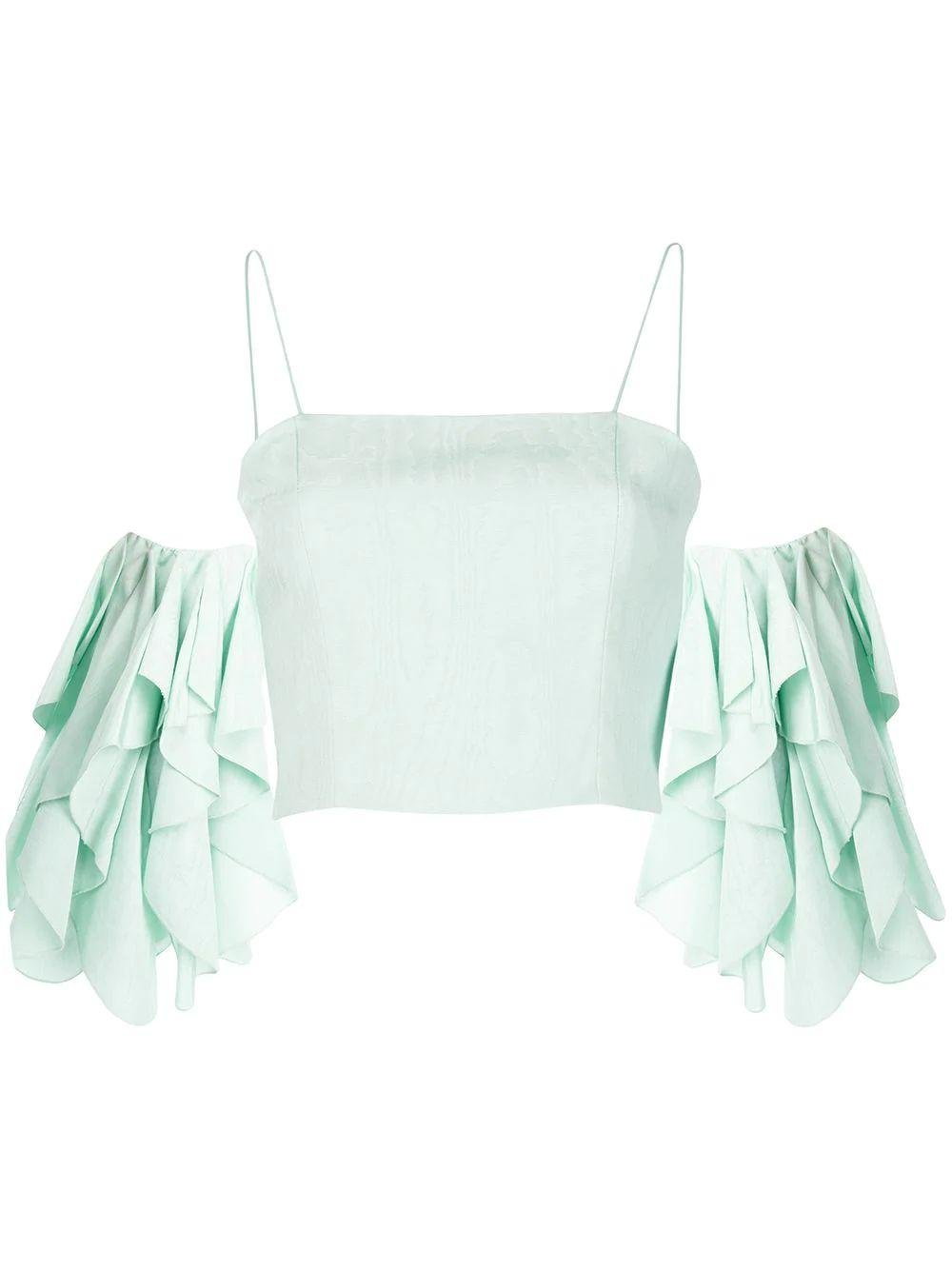 Nakia Cold Shoulder Crop Top