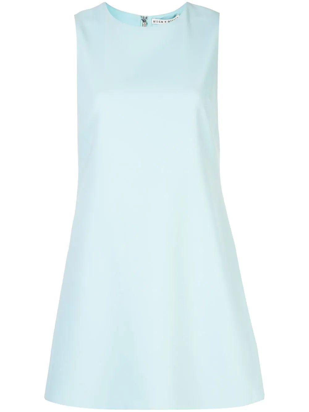 Coley Crew Neck Aline Dress Item # CC003202568-C