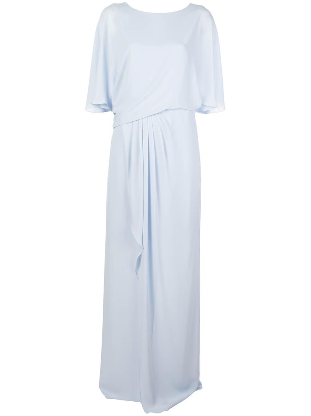 Drape Back Gown Item # 1012296