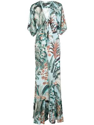 Eden Print Jersey Maxi Dress