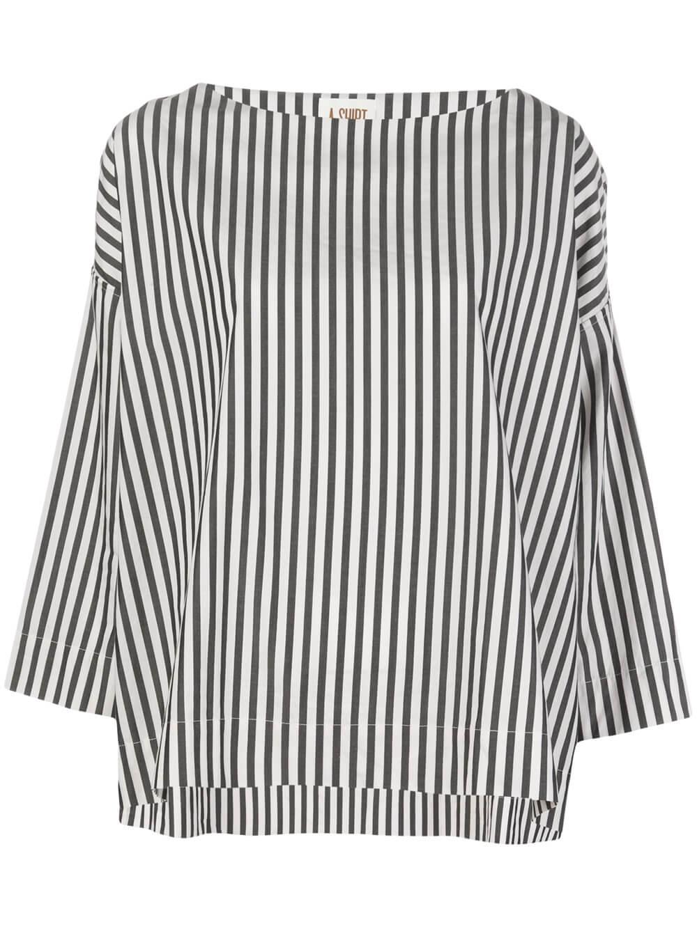 Nilou Stripe Crew Neck Shirt