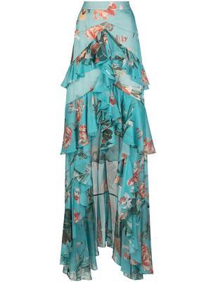 Carolina High Low Maxi Skirt