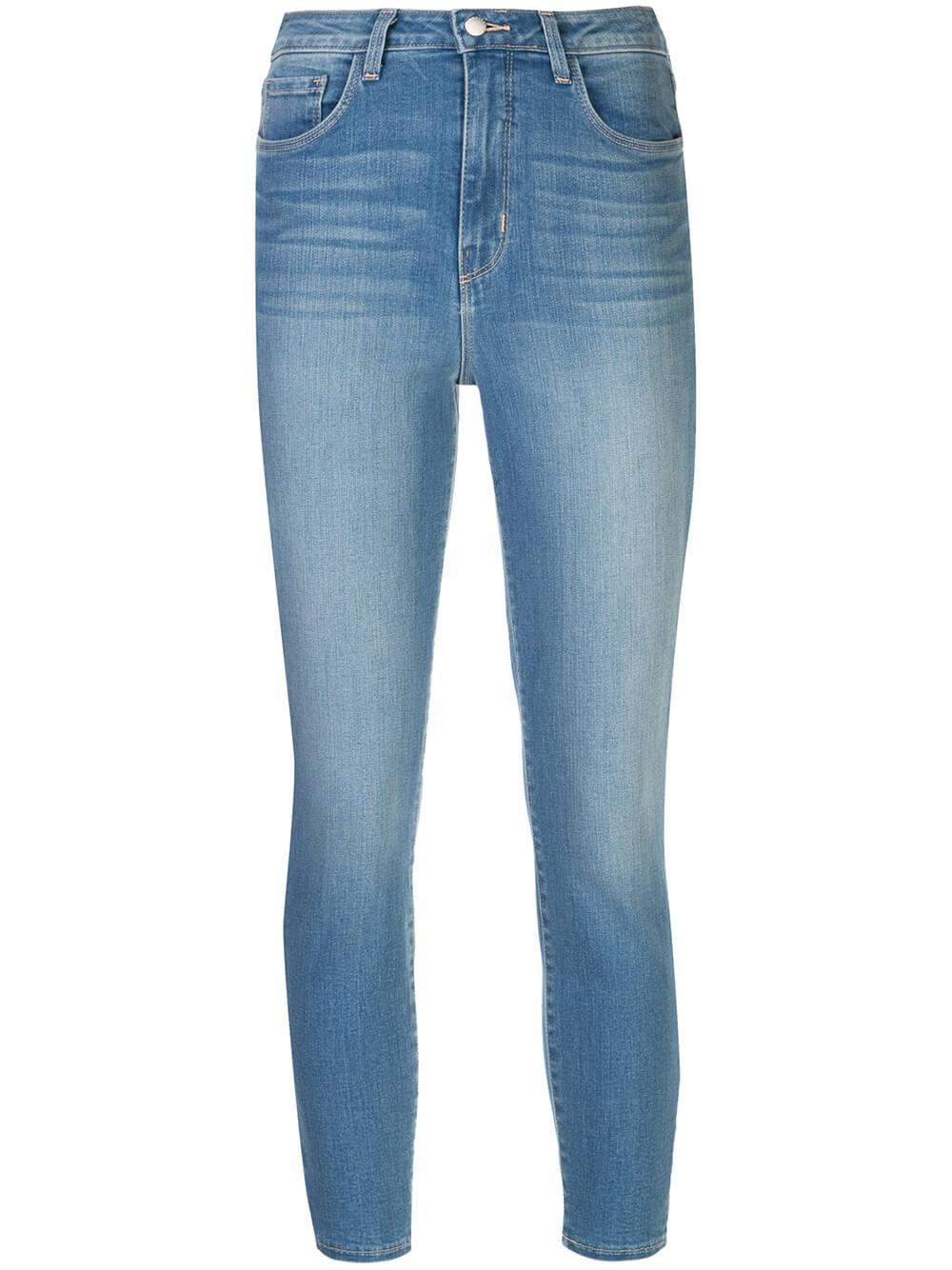 Margot High Rise Crop Skinny