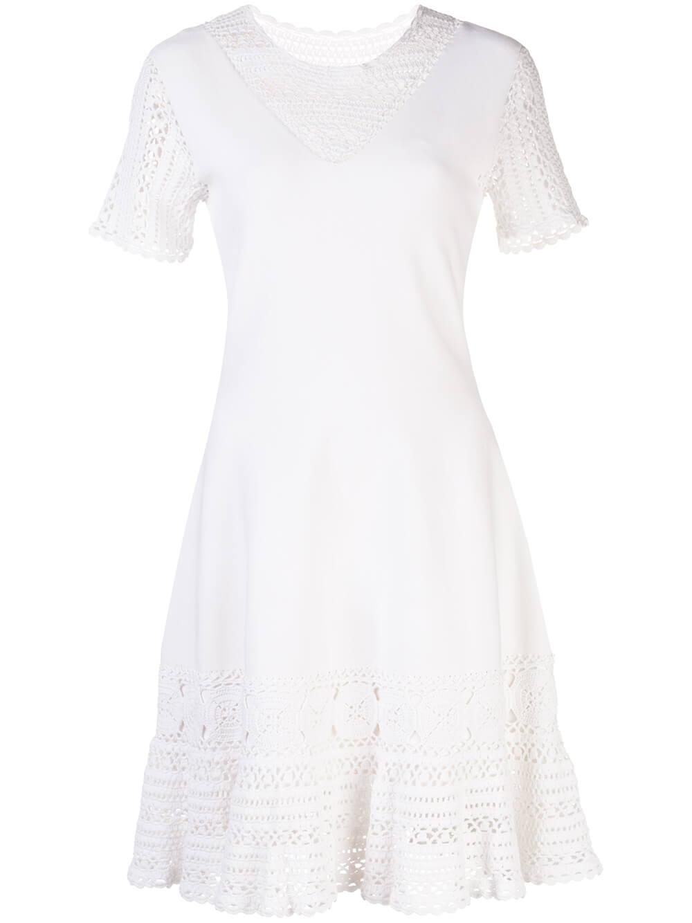 Alicia Cotton Crochet Dress