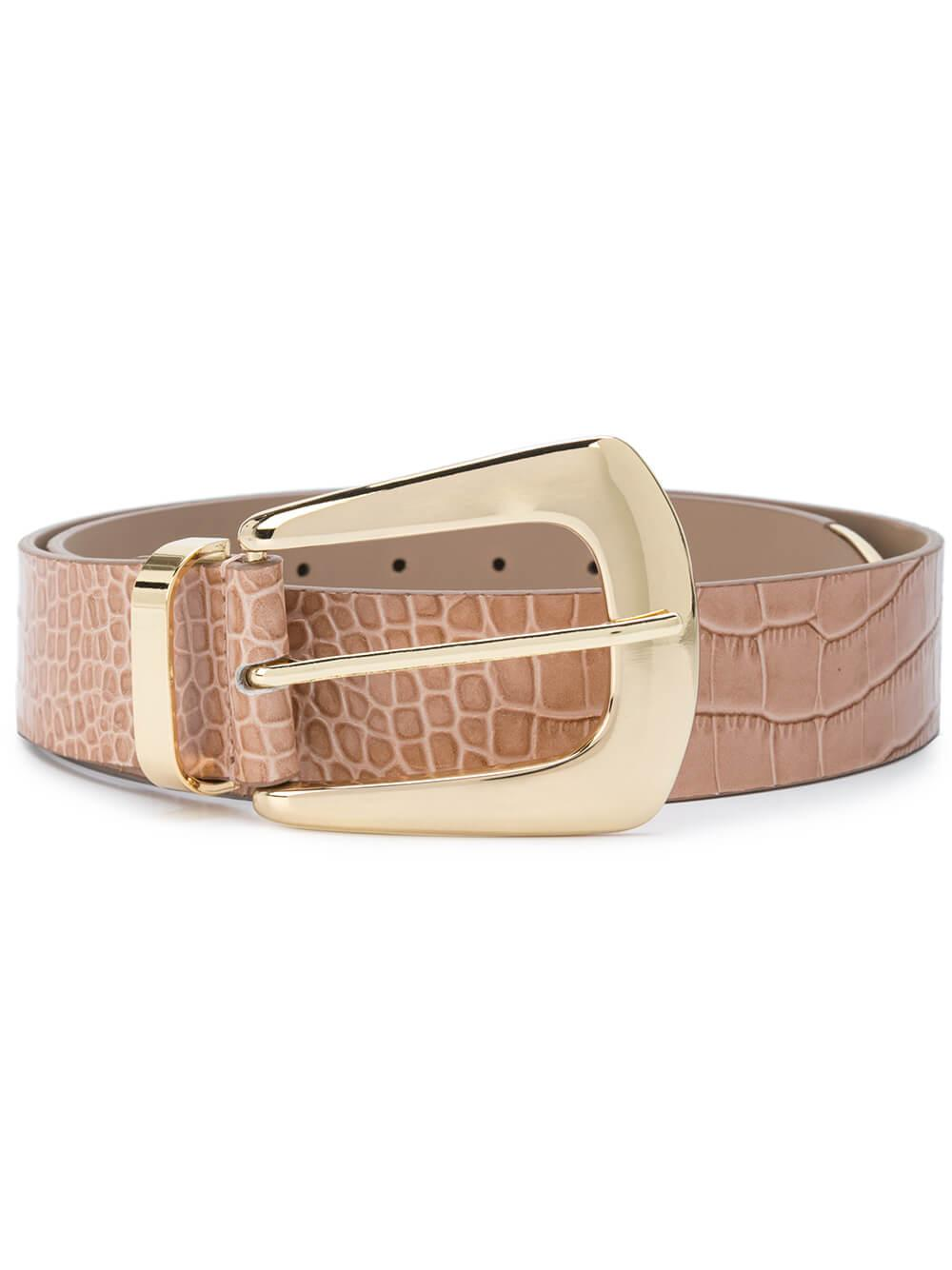 Jordana Mini Croco Belt Item # BH503-710LE
