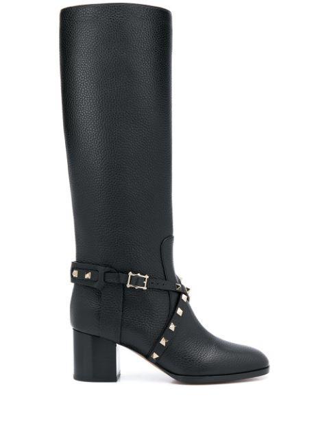 Tall 60mm Block Heel Boot Item # SW0S0R54VSL