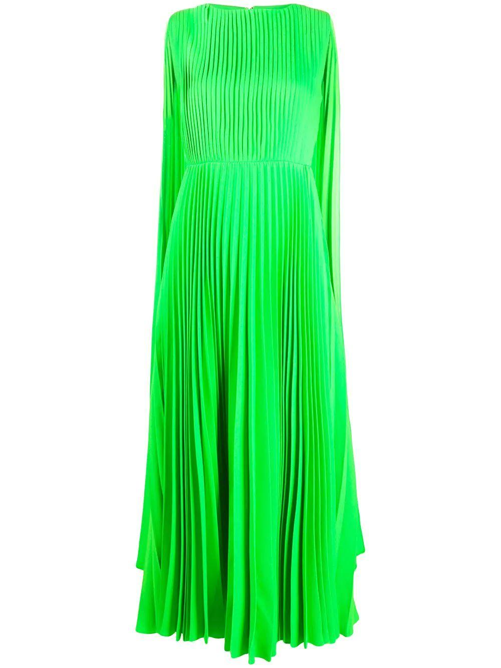 Pleated Midi Dress Item # TB0VARD15HE