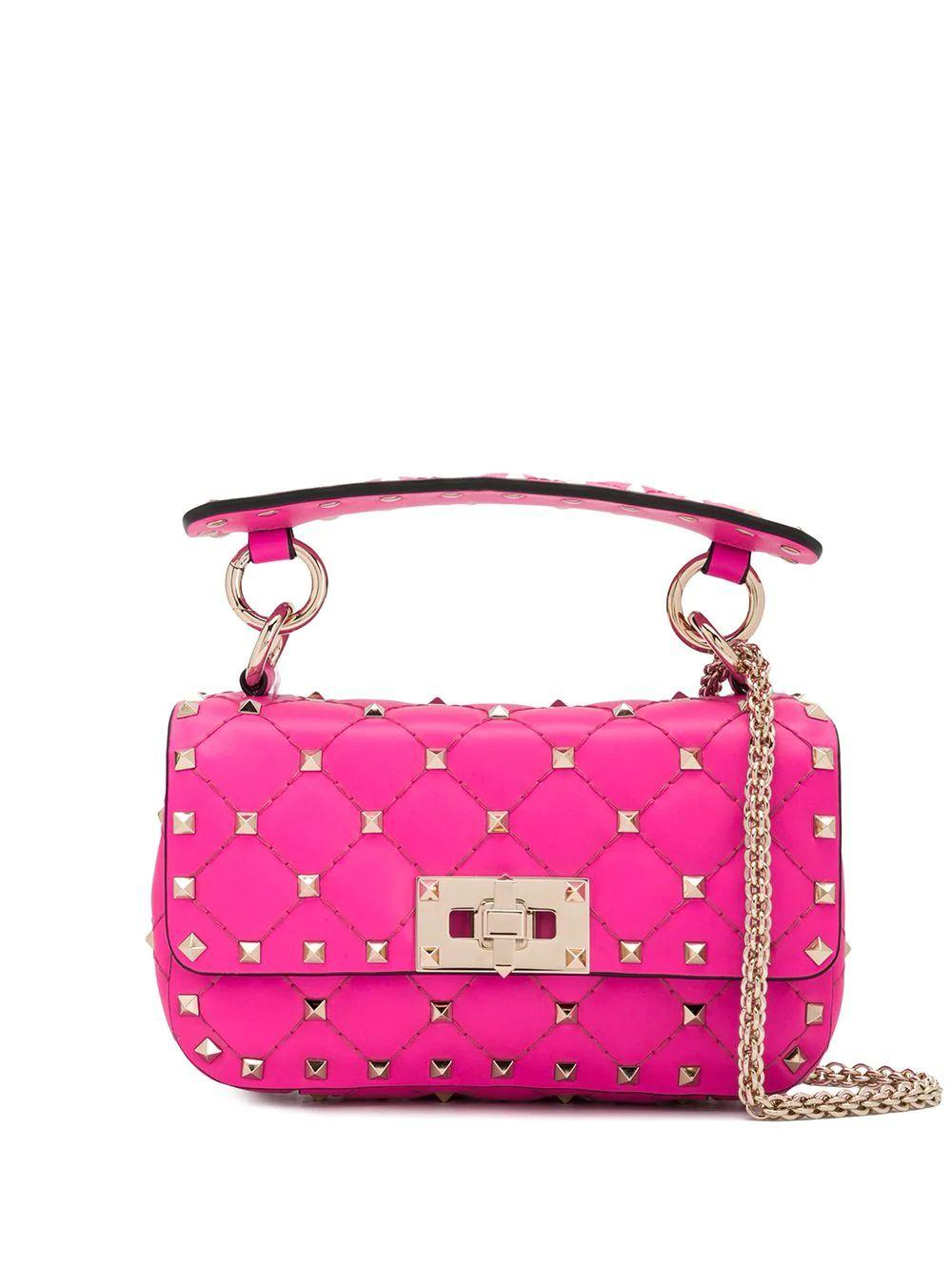 Rockstud Spike Mini Shoulder Bag Item # TW0B0G37QIB