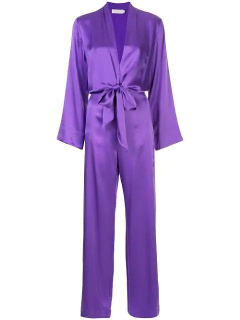 Kimono Tie Jumpsuit