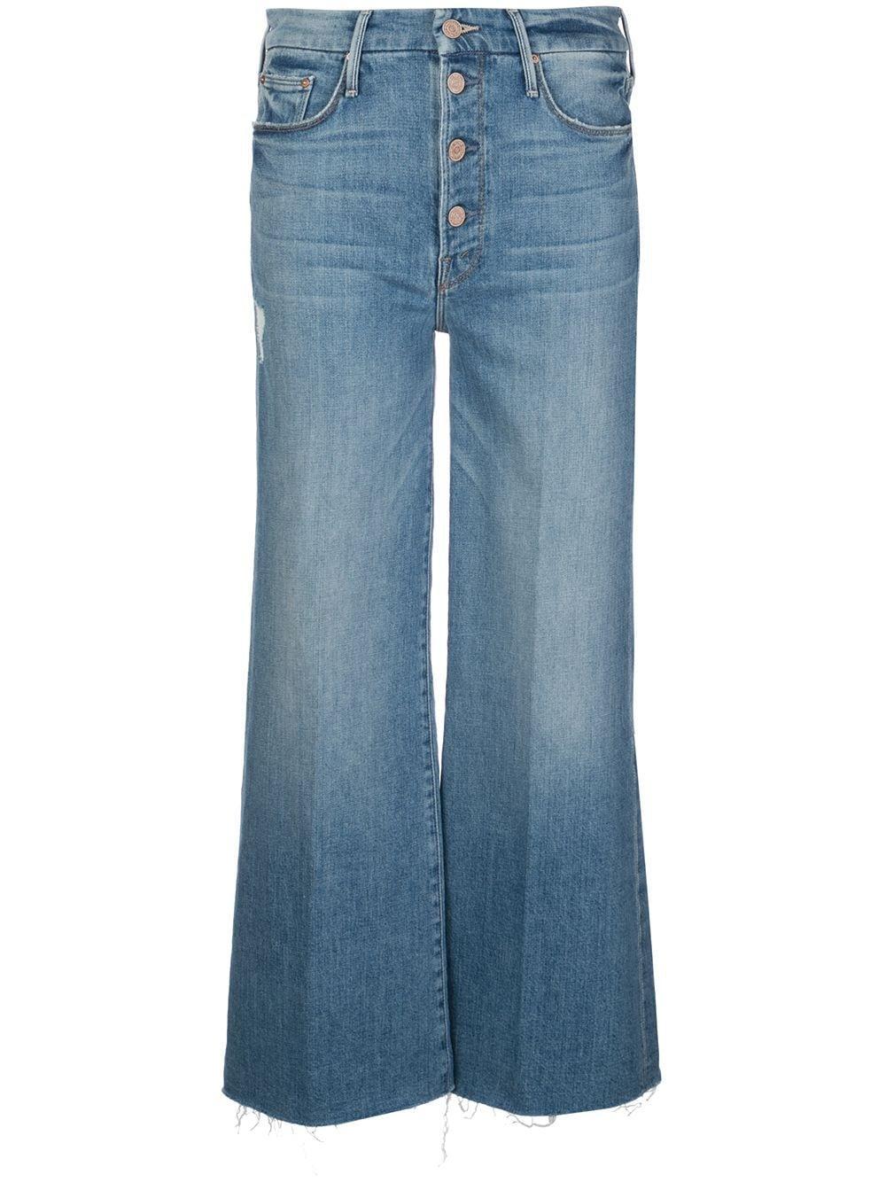 Pixie Roller Wide Leg Jean Item # 1185-624