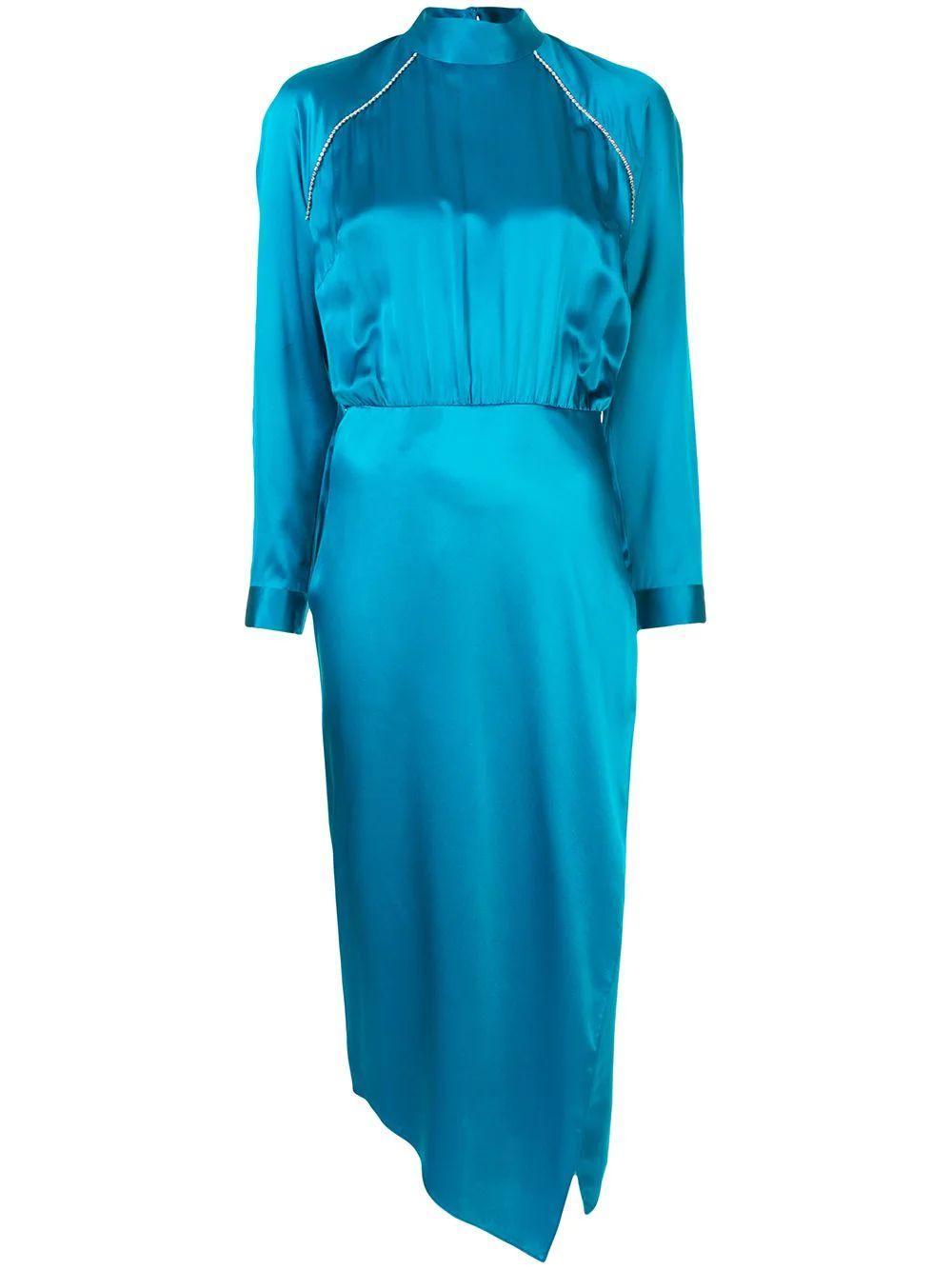 Raglan Sleeve Dress With Crystals Item # M9267