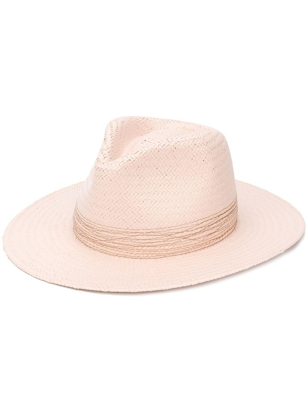 Packable Straw Fedora Item # WJW20S1001JM