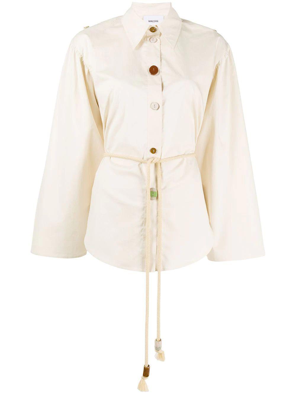 Tammi Oversized Wooden Button Top Item # WSB00140