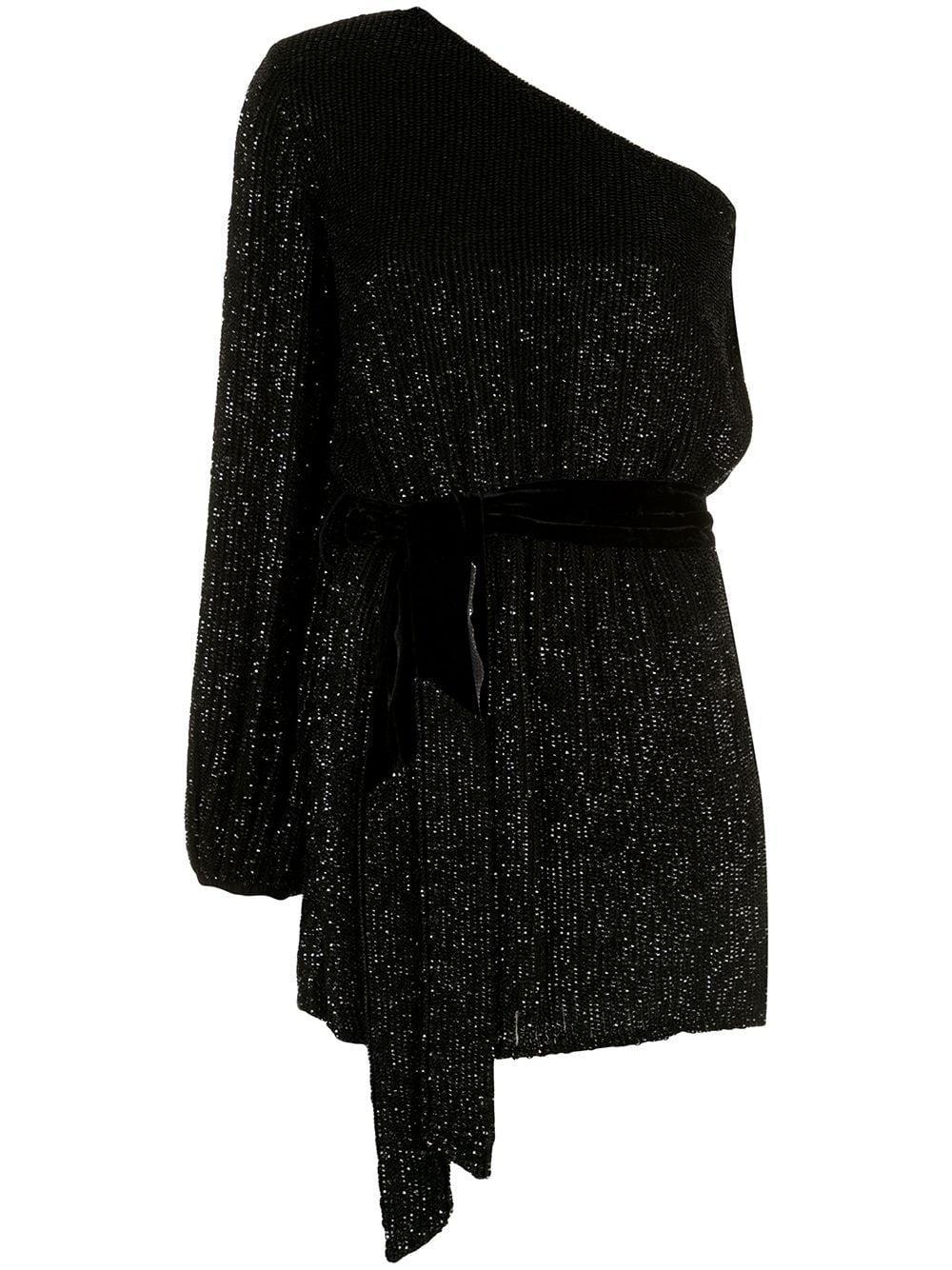 Bridget One Shoulder Dress Item # SS20-2579