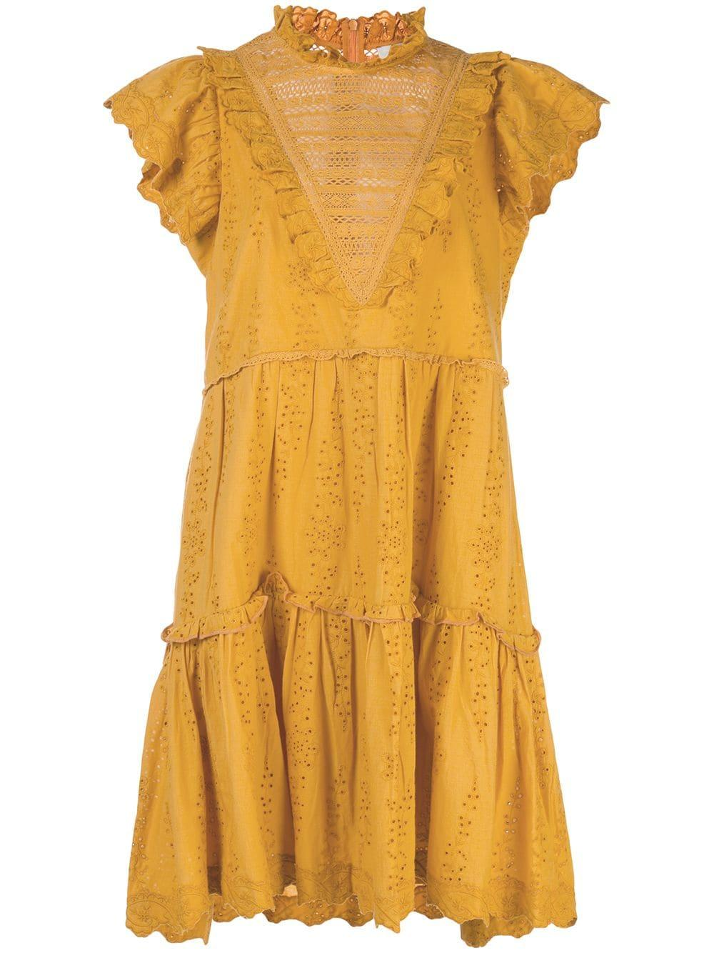 Lea Ruffle Dress