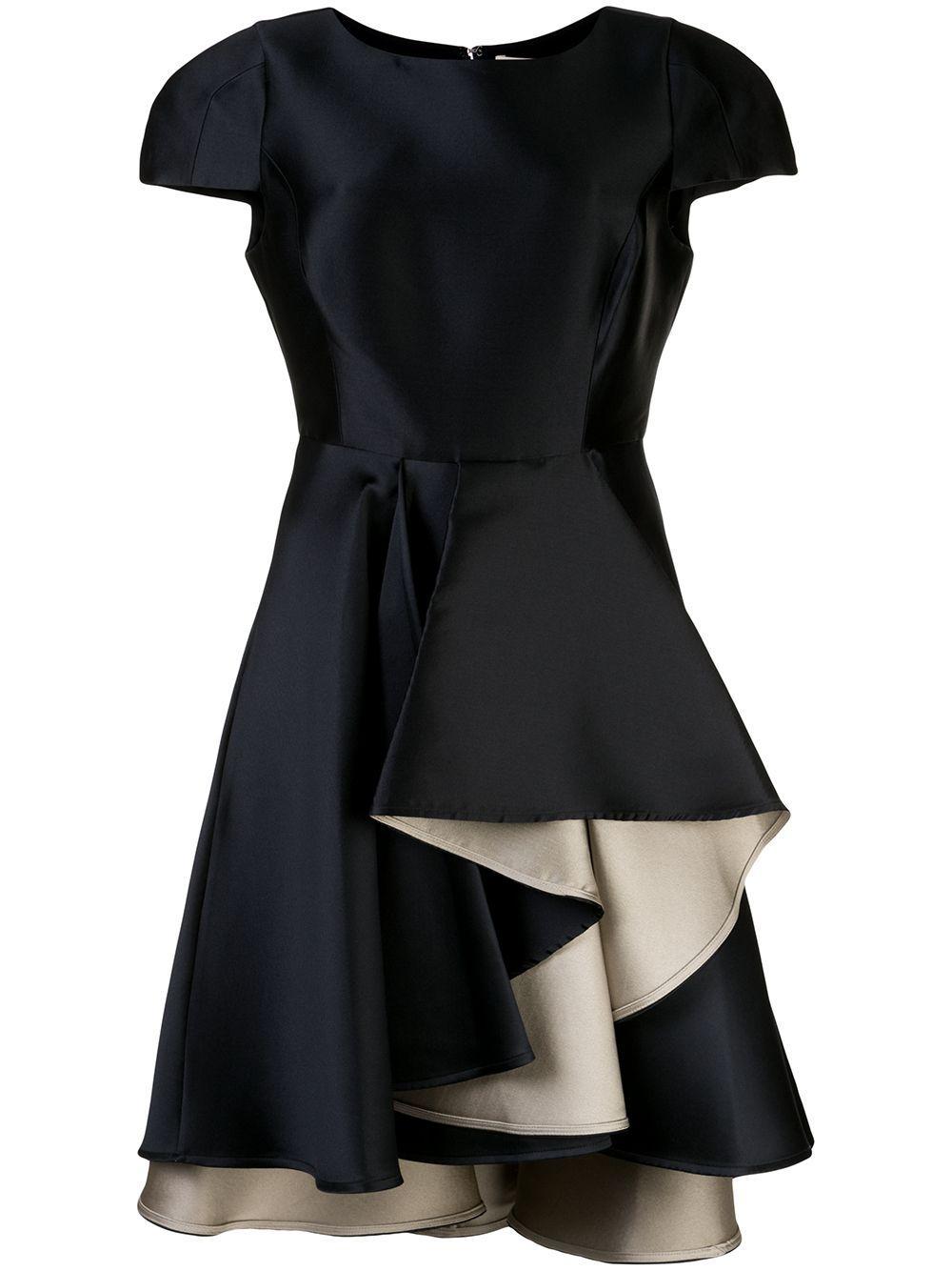 Dramatic Skirt Cap Sleeve Dress Item # 1012246