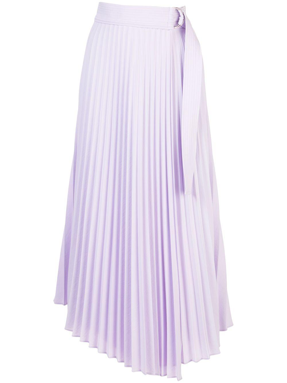 Arielle Pleated Midi Skirt Item # 3SKRT00221