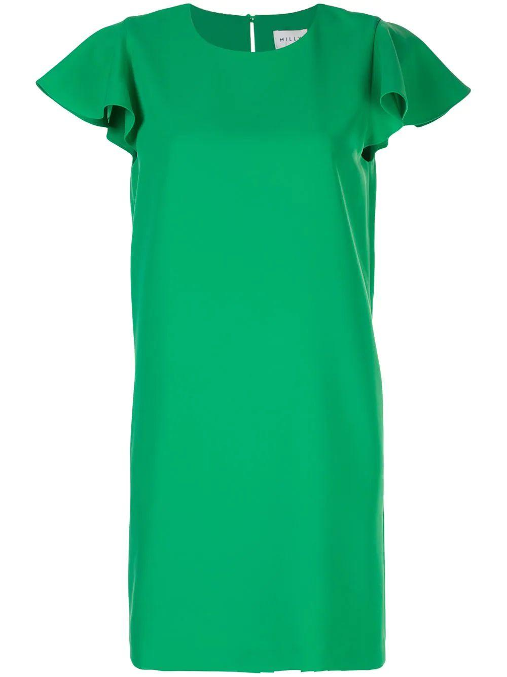 Bryce Ruffle Sleeve Dress