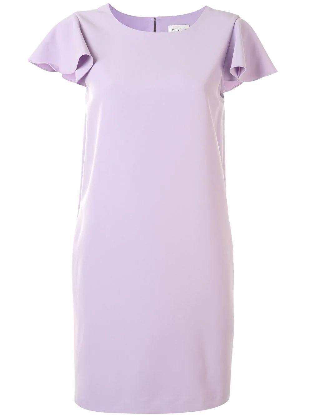 Bryce Ruffle Sleeve Dress