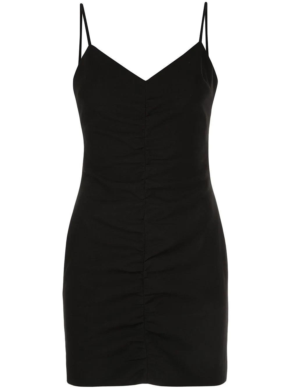 Charla Ruched Mini Dress Item # YD1130001LYB