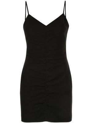 Charla Ruched Mini Dress