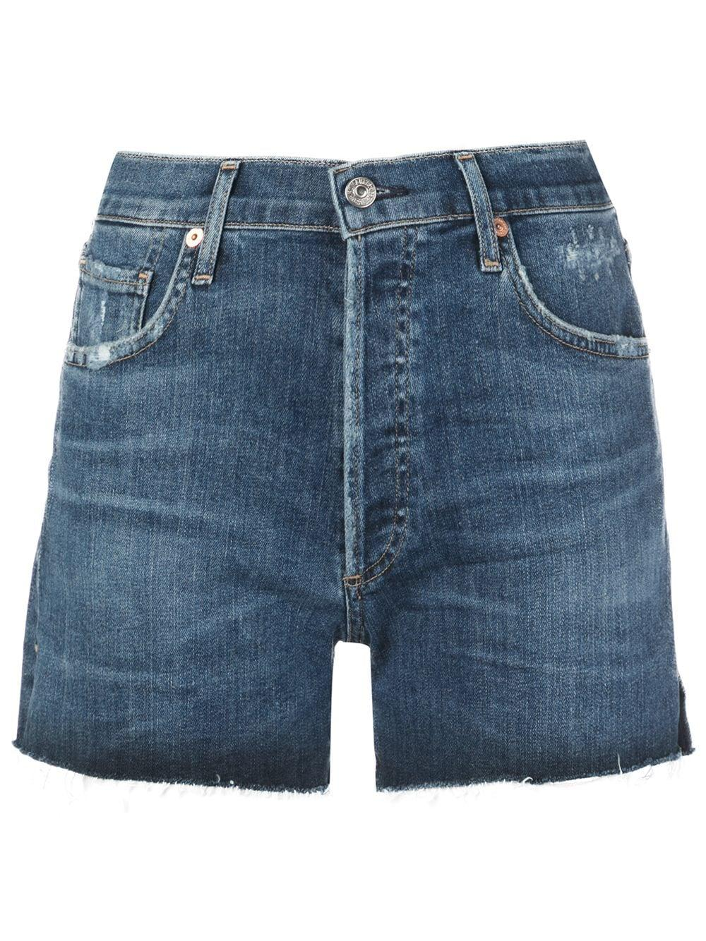 Marlow Easy Raw Hem Jean Short Item # 996-357