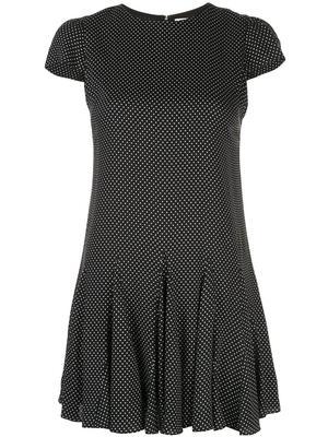 Dolly Godet Dot Print Dress